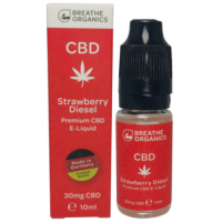 Breathe Organics Strawberry Diesel 30/100/300mg