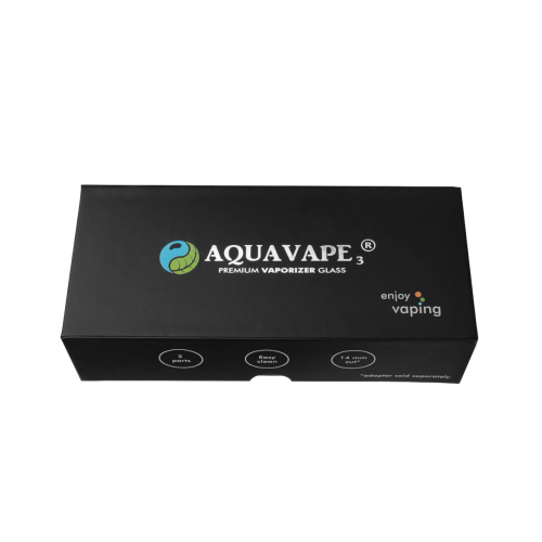 AquaVape³ Wasserfilter mit 14er Edelstahladapter für V5.0S Mini/Mini Pro/HYBRID X
