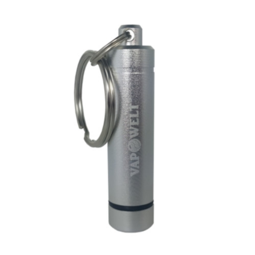 Vapowelt Steel Pod Container Schlüsselanhänger (inkl. 2 Herb Pods) *Silber*