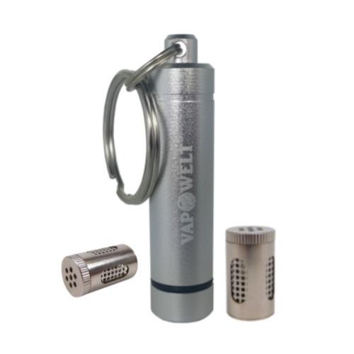 Vapowelt Steel Pod Container Schlüsselanhänger (ohne Pods) *Silber*