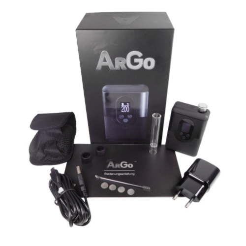 Arizer Go (ArGo) AquaVape³ Set *Carbon Black*