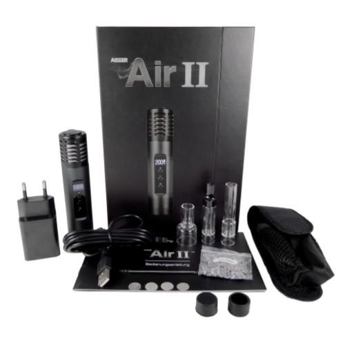 Arizer Air II Vaporizer *Carbon Black* *Refurbished/B-Ware*