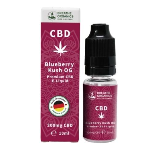 Breathe Organics 10ml Blueberry Kush (300mg)