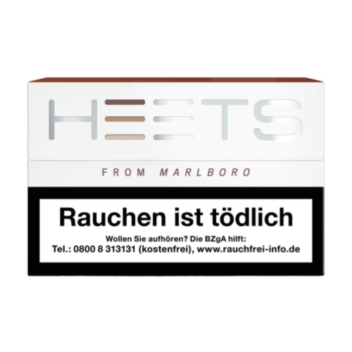 Marlboro HEETS *Bronze Label* (Schachtel à 20 Sticks)