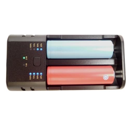 Premium Universal USB Dual Batterie-Ladegerät