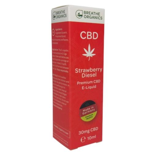 Breathe Organics 10ml Strawberry Diesel (30mg)