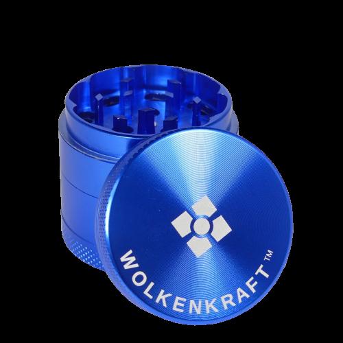 WOLKENKRAFT Alu Grinder (40 mm) *Blau*