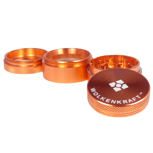 WOLKENKRAFT Alu Grinder (40 mm) *Rose gold*