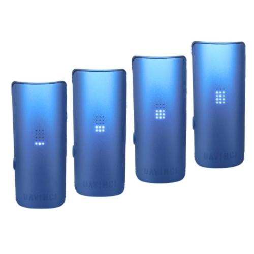 DaVinci MIQRO Vaporizer *Cobalt**Blau* imAquaVape³ Set