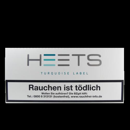 Marlboro HEETS *Turquoise Label* (Schachtel à 20 Sticks)