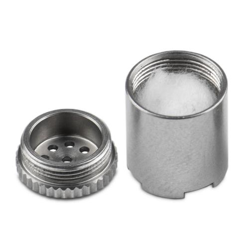 WOLKENKRAFT FX MINI Steel Pod Kapsel für Öle, Liquide