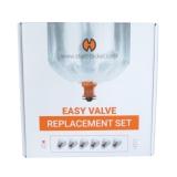Volcano Easy Valve Ballon Set (klein / 2 feet / 60 cm) (6 Stück)