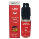 Breathe Organics 10ml Strawberry Diesel (300mg)