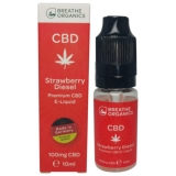 Breathe Organics 10ml Strawberry Diesel (100mg)