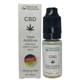 Breathe Organics 10ml Premium CBD Liquid Base (1000mg)