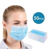 Mund-Nasen-Schutzmasken 50 Stück (3-lagig)