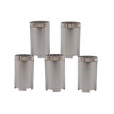 SMONO Steel Pod Liquide 5 Stück (Kapsel für Öle, Konzentrate, Liquide)